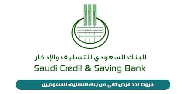 قروض بنك التسليف وشروط الحصول عليها 2021